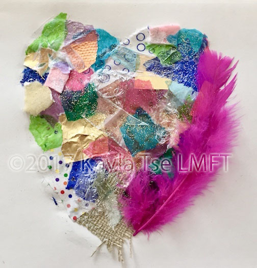 Heart Collage Art copy